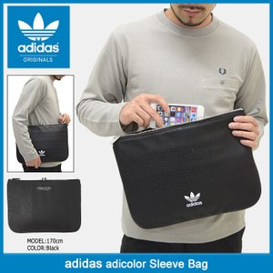アディダス adidas バッグ アディカラー スリーブ オリジナルス(adidas adicolor Sleeve Bag Originals クラッチバッグ BK6962) icefield