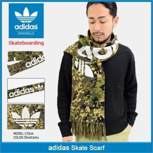 アディダス adidas マフラー スケート スカーフ オリジナルス(adidas Skate Scarf Originals Skateboarding 男性用 BR3871)|icefield