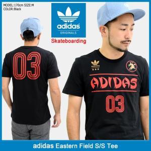 アディダス adidas Tシャツ 半袖 メンズ イースタン フィールド オリジナルス(adidas Eastern Field S/S Tee Originals 男性用 BR4955)|icefield