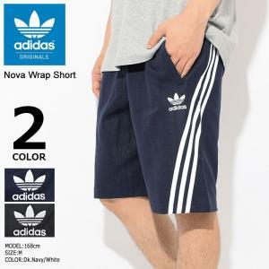 アディダス adidas ハーフパンツ メンズ ノヴァ ラップ ショーツ オリジナルス(Nova Wrap Short Originals ボトムス 男性用 CE4849 CE4850)...