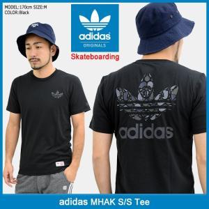 アディダス adidas Tシャツ 半袖 メンズ マーク オリジナルス(adidas MHAK S/S Tee Originals Skateboarding 男性用 CF0959)|icefield