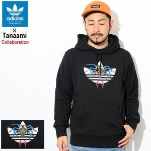 アディダス プルオーバー パーカー adidas メンズ 田名網敬一 コラボ オリジナルス(Tana...