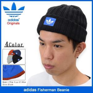 アディダス adidas ニット帽 フィッシャーマン ビーニー(Fisherman Beanie Originals 帽子 ニットキャップ AY9308 AY9309 AY9310 AY9311)|icefield
