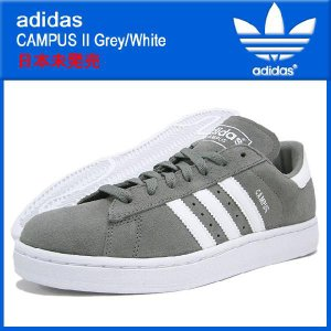 アディダス adidas キャンパス 2 Grey/Whit...