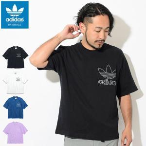 アディダス Tシャツ 半袖 adidas メンズ アウトライン オーバーサイズ オリジナルス(Out...