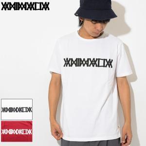 アニマリア Tシャツ 半袖 ANIMALIA メンズ オールド ウエスト ロゴ(Old West Logo S/S Tee カットソー トップス AN18U-CS06) icefield
