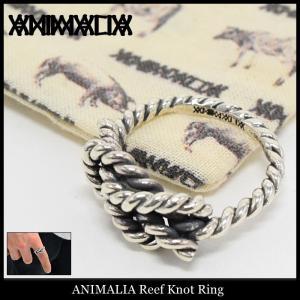 アニマリア ANIMALIA リング メンズ リーフ ノット(animalia Reef Knot Ring 指輪 メンズジュエリー アクセサリー)|icefield