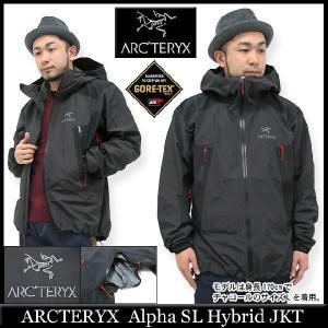 アークテリクス ARCTERYX アルファ SL ハイブリッド ジャケット(arcteryx Alpha SL Hybrid JAKET JACKET ゴアテックス アークテリックス 10371)|icefield