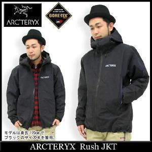 アークテリクス ARCTERYX ラッシュ ジャケット(arcteryx Rush JKT マウンテンパーカー ゴアテックス GORE-TEX メンズ 男性用 9389)|icefield
