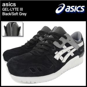 アシックス asics スニーカー メンズ 男性用 ゲルライト 3 Black/Soft Grey(ASICS Tiger GEL-LYTE III HL6B1-9010 TQL6B1-9010)|icefield
