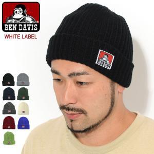 ベンデイビス BEN DAVIS ニット帽 パッチ ニット キャップ ホワイトレーベル(BDW-950A Patch Knit Cap 帽子 ビーニー)|icefield
