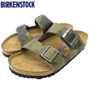 ビルケンシュトック サンダル BIRKENSTOCK アリゾナ ソフトフットベッド ビルコフロー D...