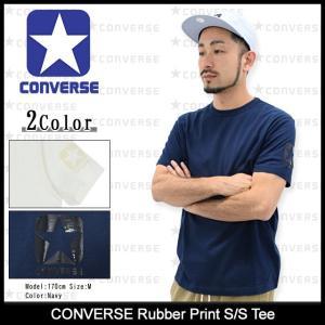 コンバース CONVERSE Tシャツ 半袖 メンズ ラバー プリント(converse Rubber Print S/S Tee T-SHIRTS トップス メンズ 男性用 MB5STS0011)|icefield
