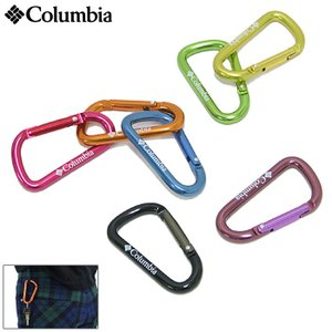 コロンビア Columbia カラビナ ハバード 2 キーリング(columbia Hubbard II Key Ring アウトドア メンズ レディース PU1340) icefield