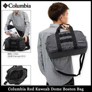コロンビア Columbia ボストンバッグ レッド カウェア ドーム(columbia Red Kaweah Dome Boston Bag メンズ レディース PU8091)|icefield