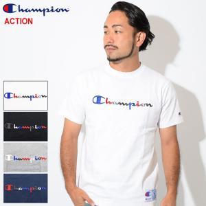 チャンピオン Tシャツ 半袖 Champion メンズ C3-H371(C3-H371 S/S Te...