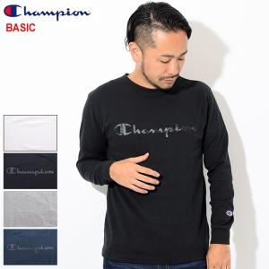チャンピオン Tシャツ 長袖 Champion メンズ C3-N419(C3-N419 L/S Te...