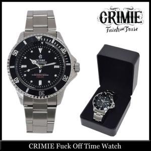 クライミー CRIMIE ファック オフ タイム ウォッチ(crimie Fuck Off Time Watch)|icefield