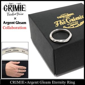 クライミー CRIMIE リング メンズ アージェント グリーム エタニティー コラボ(crimie×Argent Gleam Eternity Ring 指輪 Wネーム)|icefield