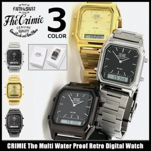 クライミー CRIMIE 腕時計 メンズ ザ マルチ ウォーター プルーフ レトロ デジタル ウォッチ(The Multi Water Proof Retro Digital Watch)|icefield