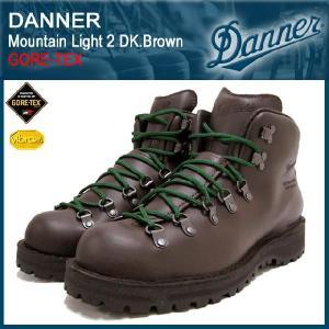 ダナー Danner マウンテンライト 2 ブーツ ダークブラウンレザー MADE IN USA ゴアテックス(30800X Mountain Light 2 DK.Brown GORE-TEX)|icefield