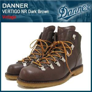ダナー Danner バーティゴ ブーツ NR ダークブラウンレザー ビンテージ(Danner DANNER D-1360-DBR VERTIGO NR DBR Dark Brown Vintage)|icefield