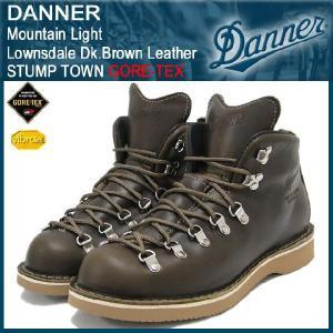 ダナー Danner マウンテンライト ブーツ Lownsdale ダーク ブラウン レザー スタンプタウン ゴアテックス(D-33110X Mountain Light STUMP TOWN GORE-TEX)|icefield