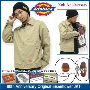 ディッキーズ Dickies 90周年記念 オリジナル アイゼンハワー ワークジャケット メンズ(DICKIES wd15 90th JACKET JAKET アウター トップス) icefield