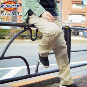 ディッキーズ Dickies 873 ローライズ ワークパンツ メンズ (wp873 Slim Straight Fit Work Pants デッキーズ チノパン ボトムス)|icefield