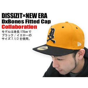 DISSIZIT(ディシズイット)×NEW ERA DxBones Fitted Cap コラボ|icefield