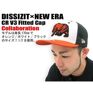 DISSIZIT(ディシズイット)×NEW ERA CR V3 Fitted Cap コラボ|icefield