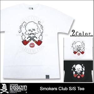 ディシズイット DISSIZIT スモーカーズ クラブ Tシャツ 半袖(Slick Smokers Club S/S Tee) icefield