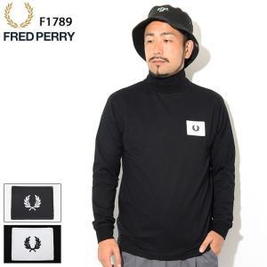 フレッドペリー Tシャツ 長袖 FRED PERRY メンズ ハイネック(FREDPERRY F17...