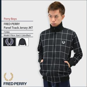 フレッドペリー FRED PERRY ジャケット メンズ パネル トラック ジャージー ペリーボーイズ(F2466 Panel Track Jersey JKT Perry Boys)