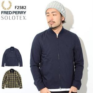 フレッドペリー ジャケット FRED PERRY メンズ シャツ ボンバー 日本企画(F2582 S...