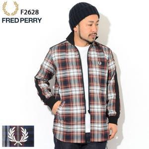 フレッドペリー シャツ 長袖 FRED PERRY メンズ トラック ジャケット 日本企画 ( F2...