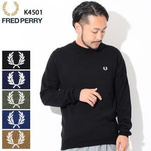 フレッドペリー セーター FRED PERRY メンズ クラシック クルーネック(K4501 Cla...