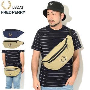 フレッドペリー ボディバッグ FRED PERRY ブランデッド リップストップ クロス ( L82...