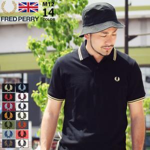 フレッドペリー ポロシャツ 英国製 半袖 FRED PERRY メンズ M12N イングランド フレ...