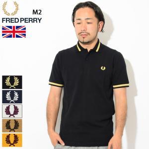 フレッドペリー ポロシャツ 半袖 FRED PERRY メンズ M2 シングル ティップド フレッド...