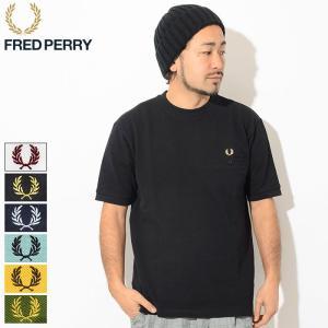 フレッドペリー Tシャツ 半袖 FRED PERRY メンズ ピケ ポケット 日本企画(F1792 ...