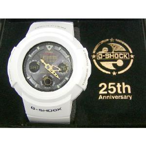G-SHOCK(ジーショック) AWG-525B-7AJF 25周年記念 Rising White+html Special Tee付|icefield