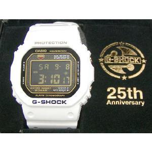 【9/21入荷予定】G-SHOCK(ジーショック) DW-5025B-7JF 25周年記念 Rising White+html Special Tee付|icefield