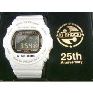 G-SHOCK(ジーショック) DW-5725B-7JF 25周年記念 Rising White+html Special Tee付|icefield