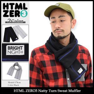 エイチティエムエル ゼロスリー HTML ZERO3 マフラー メンズ ナッティ ターン スウェット(Natty Turn Sweat Muffler ストール)