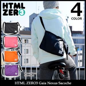 エイチティエムエル ゼロスリー HTML ZERO3 ショルダーバッグ ガイア ネクサス サコッシュ(Gaia Nexus Sacoche Shoulder Bag HTML-ACS216)|icefield