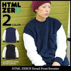 【送料無料】エイチティエムエル ゼロスリー HTML ZERO3 セーター メンズ ドレッド フロスト(Dread Frost Sweater トップス HTML-CT202)|icefield