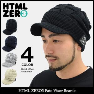 エイチティエムエル ゼロスリー HTML ZERO3 ニット帽 フェイト バイザー ビーニー(Fate Visor Beanie 帽子 ニットキャップ)