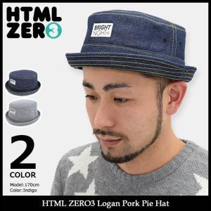 エイチティエムエル ゼロスリー HTML ZERO3 ハット メンズ ローガン ポーク パイ(html zero3 Logan Pork Pie Hat 帽子)