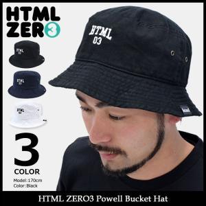 エイチティエムエル ゼロスリー HTML ZERO3 ハット メンズ パウエル バケットハット(Powell Bucket Hat 帽子) icefield